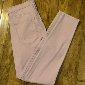 Banana Republic pink skinny jeans. New with tags
